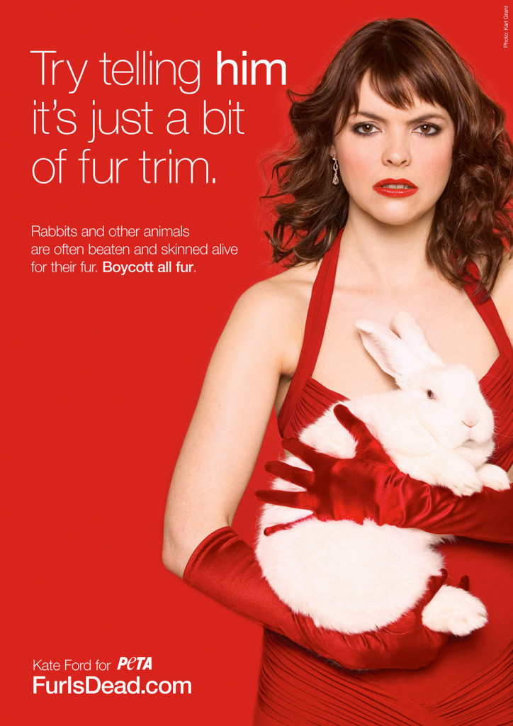 Kate Ford for PeTA
